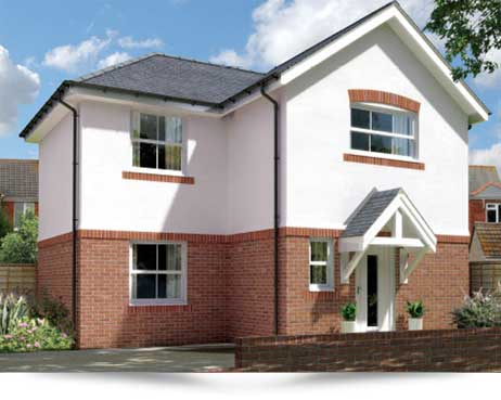 Weymouth. New build 3 bedroom detached home