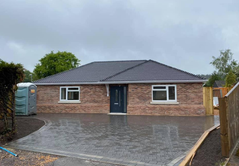 Wimborne. Completed 2020. 3 bedroom bungalow