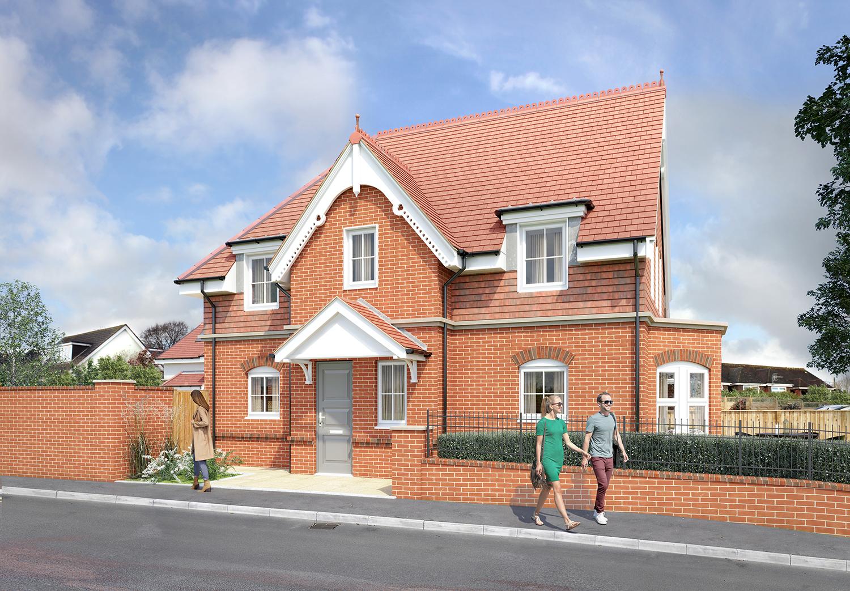 Wimborne Road Construction Project